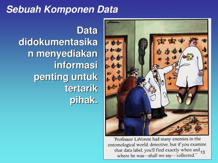 Sebuah Komponen Data