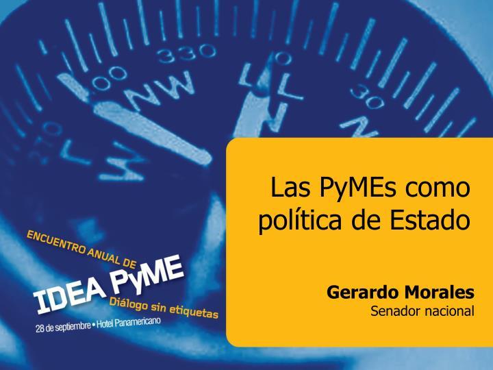 Las PyMEs como política de Estado