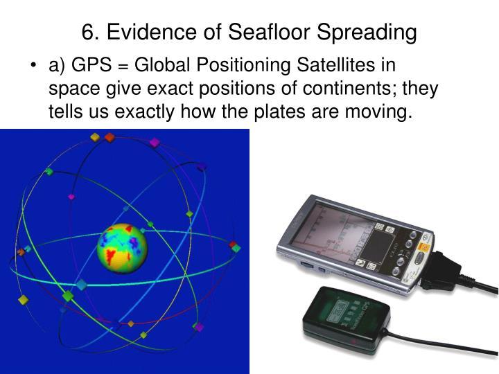 6. Evidence of Seafloor Spreading