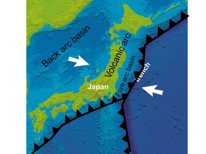 Back arc basin