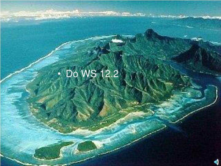 Do WS 12.2