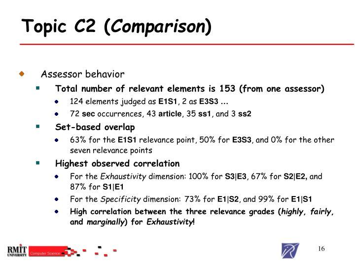 Topic C2 (