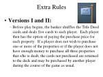 extra rules