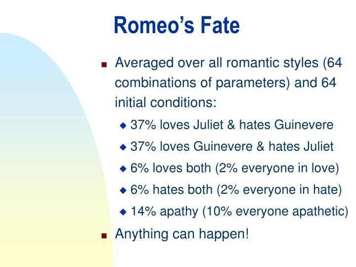 Romeo's Fate