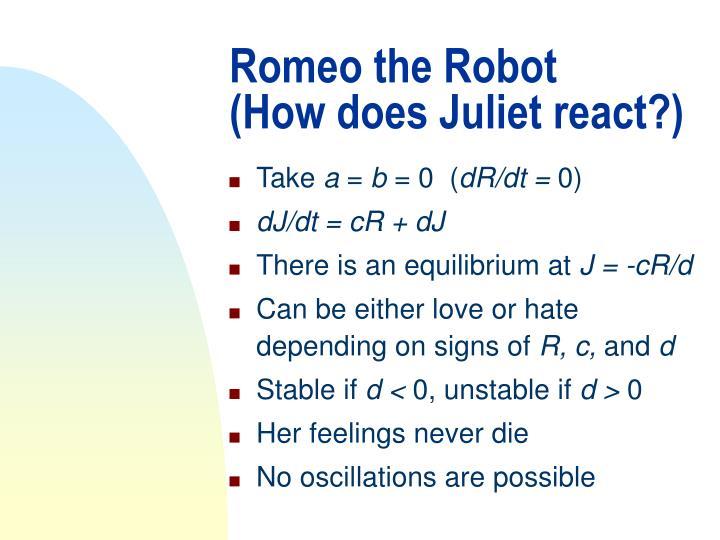 Romeo the Robot