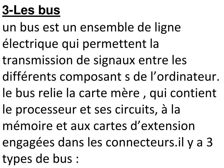 3-Les bus