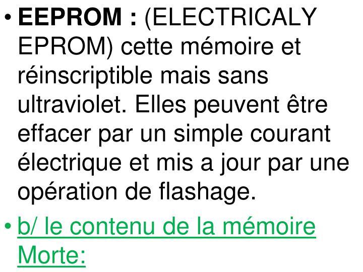 EEPROM: