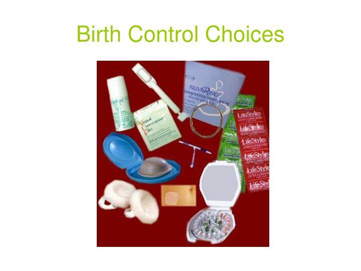 Birth Control Choices