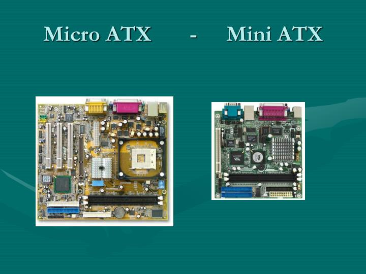Micro ATX-Mini ATX