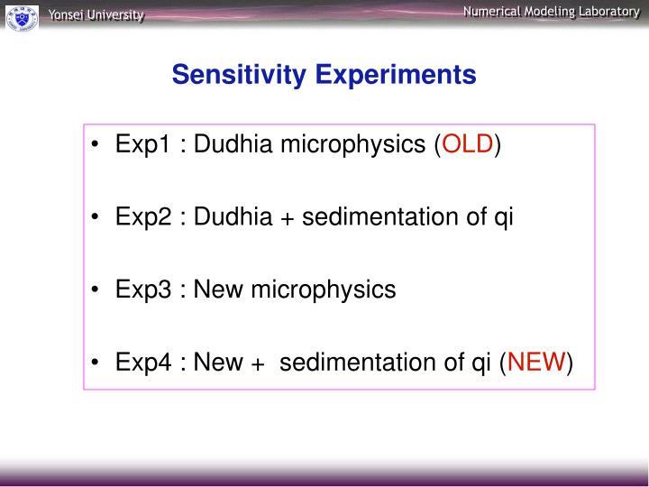 Exp1 : Dudhia microphysics (