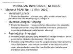 pemeriksaan surat berharga dan investasi6