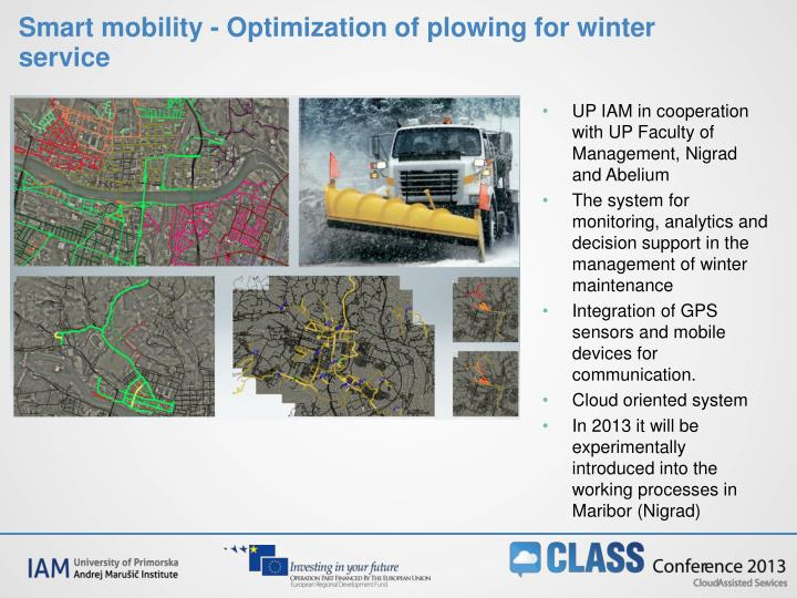 Smart mobility -