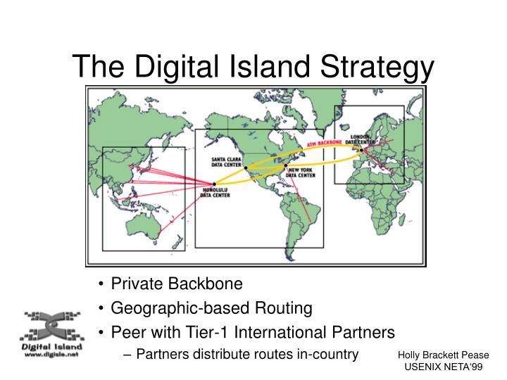The Digital Island Strategy
