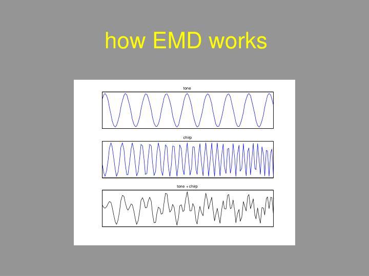 how EMD works