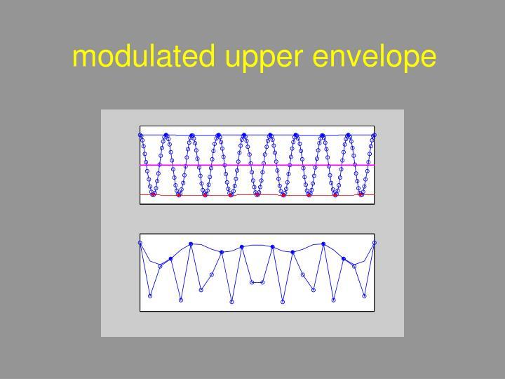 modulated upper envelope