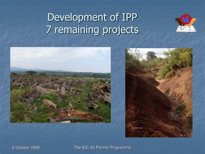 Development of IPP