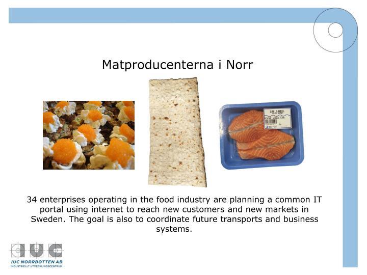 Matproducenterna i Norr