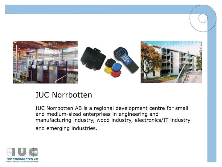 IUC Norrbotten