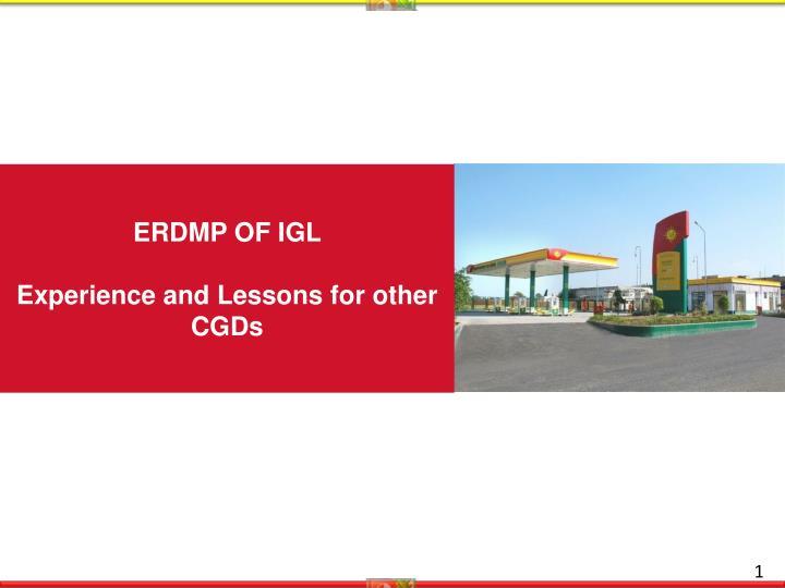 ERDMP OF IGL