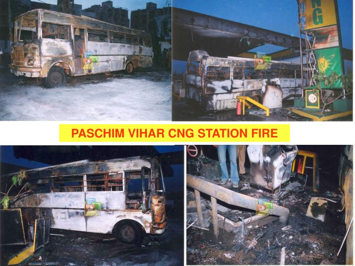PASCHIM VIHAR CNG STATION FIRE