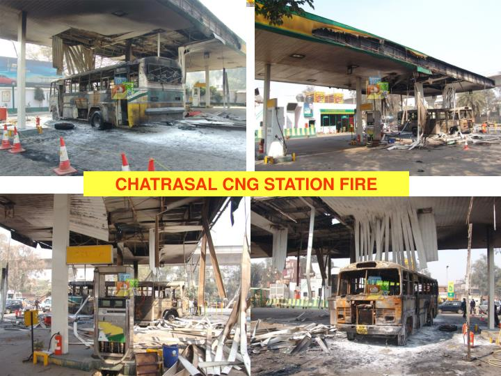 CHATRASAL CNG STATION FIRE