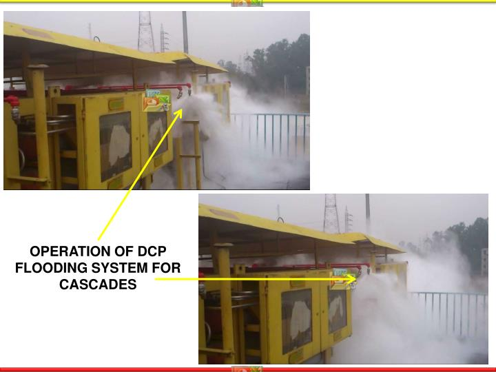OPERATION OF DCP FLOODING SYSTEM FOR CASCADES