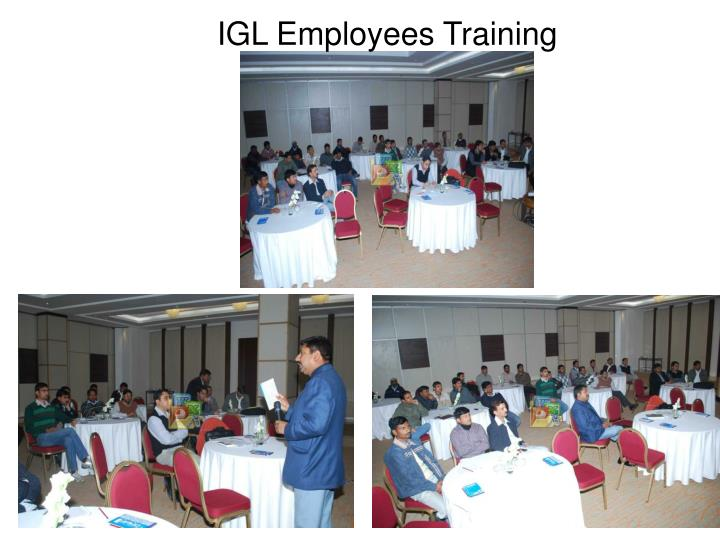 IGL Employees Training