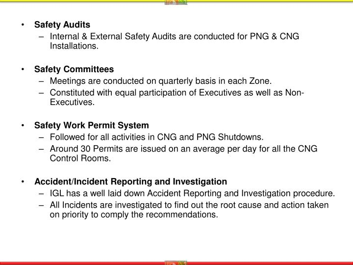Safety Audits