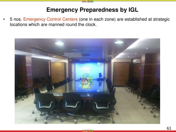 Emergency Preparedness by IGL