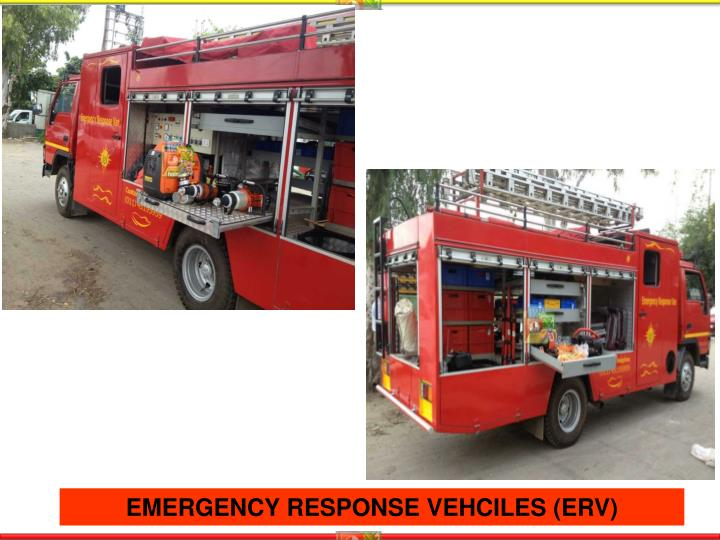 EMERGENCY RESPONSE VEHCILES (ERV)