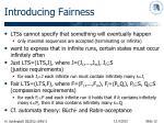 introducing fairness