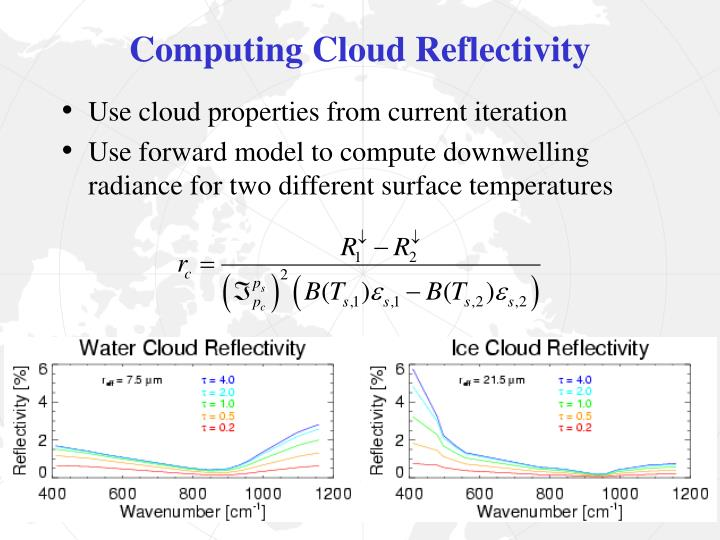 Computing Cloud Reflectivity