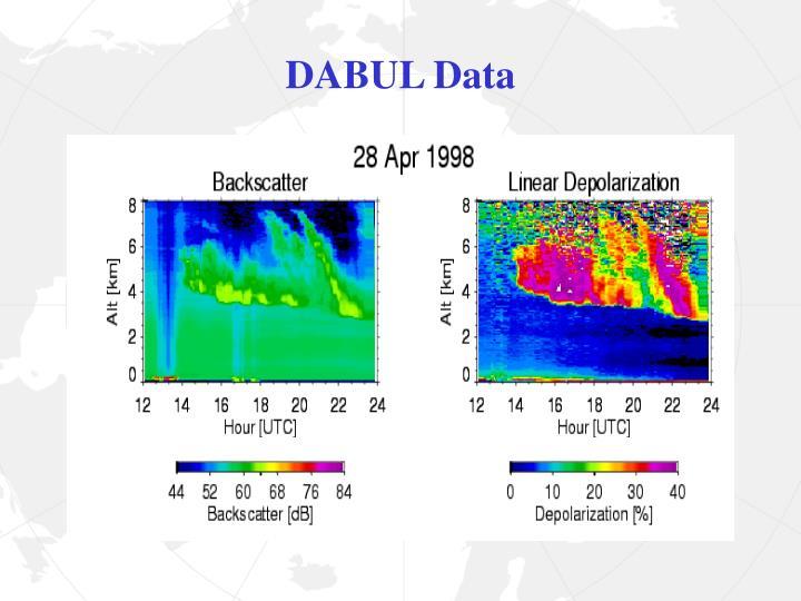 DABUL Data