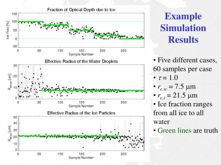 Example Simulation Results
