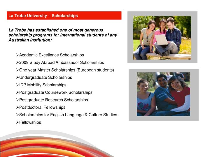 La Trobe University – Scholarships