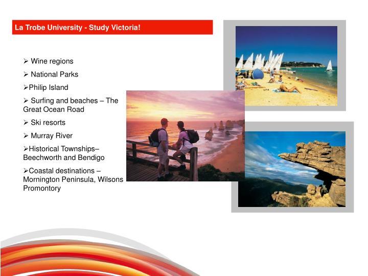 La Trobe University - Study Victoria!