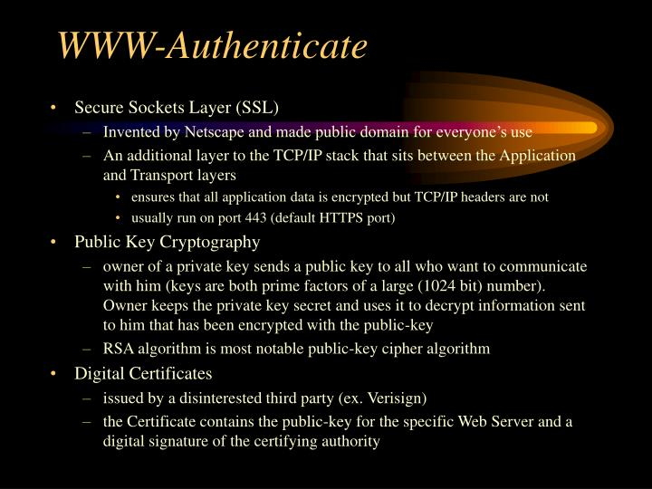 WWW-Authenticate