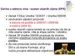 carine u sektoru vina sustav ulaznih cijena eps