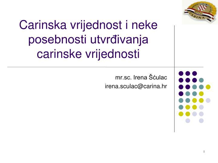 mr.sc. Irena Šćulac