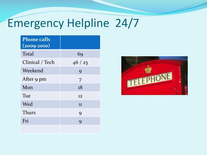 Emergency Helpline  24/7