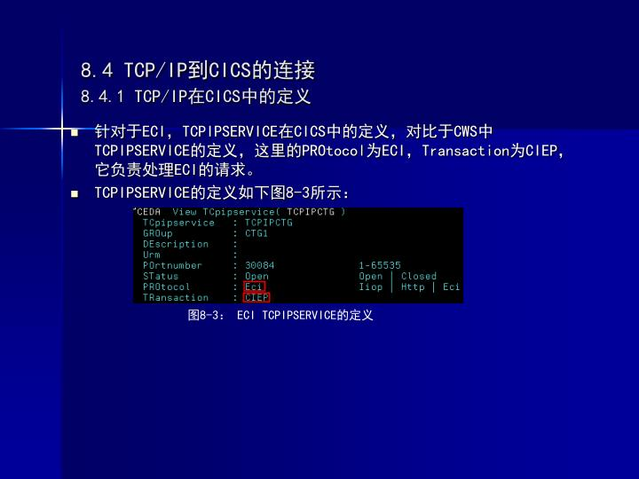 8.4 TCP/IP