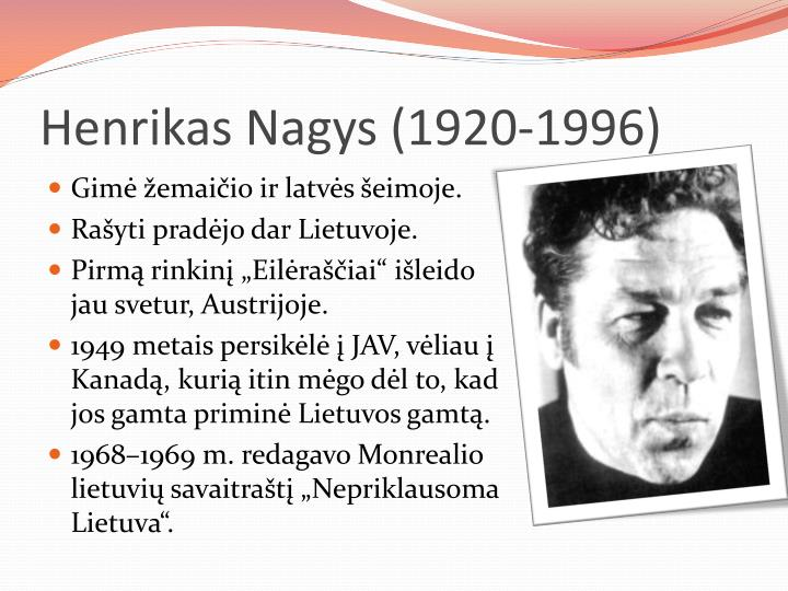 Henrikas Nagys (