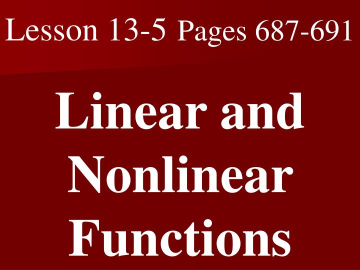 Lesson 13-5