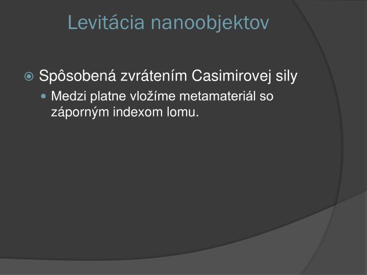 Levitácia