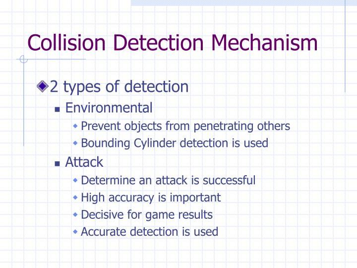 Collision Detection Mechanism