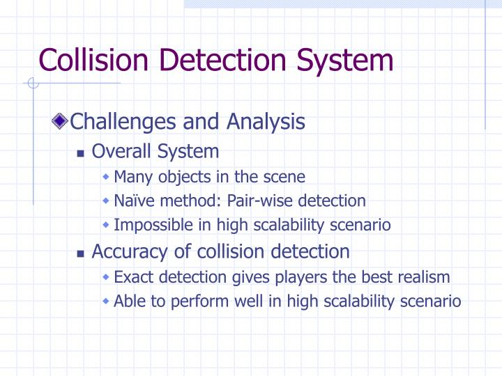 Collision Detection System