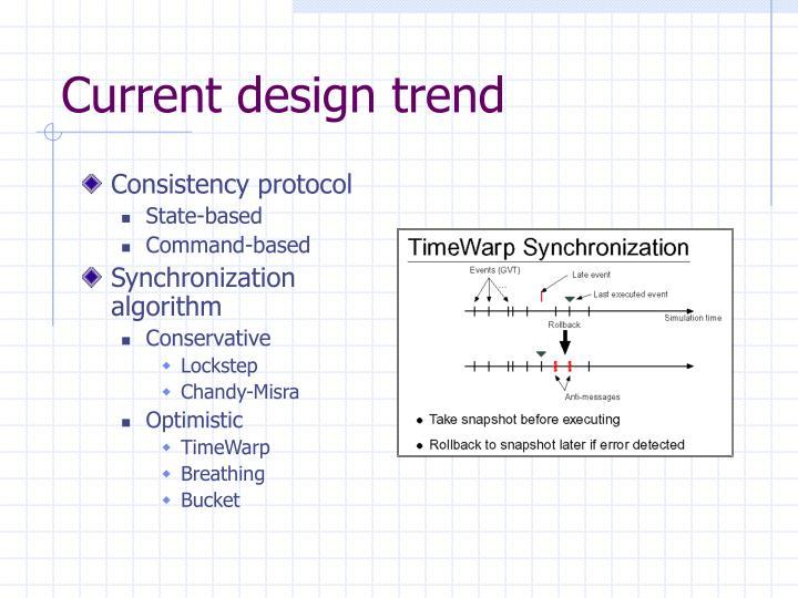 Current design trend