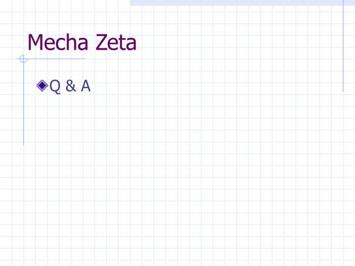 Mecha Zeta