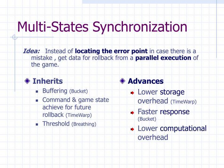 Multi-States Synchronization