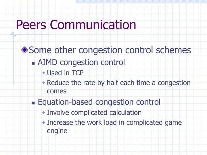 Peers Communication